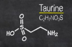 How many milligrams of taurine is in Red Bull?