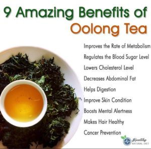 9 Benefits Of Feiyan Oolong Tea