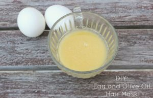 DIY Egg and Olive Oil Hair Mask