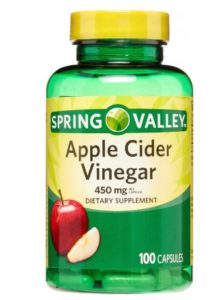 Suggested Dosage of Spring Valley Apple Cider Vinegar Pills